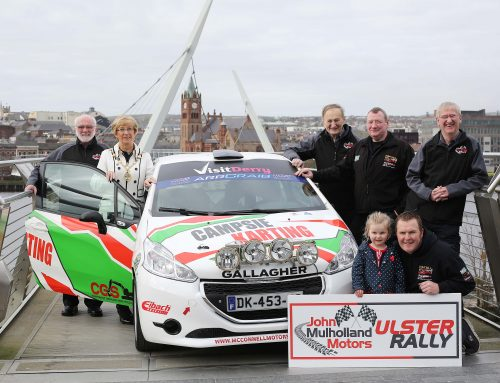 Ulster Rally set to return to Walled City in August