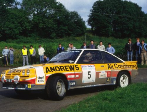 Two-time British Rally Champion: Russell Brookes 1945-2019