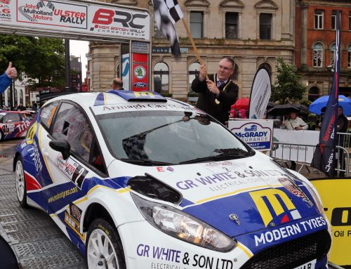 Tight competition all round for this year's Ulster Rally