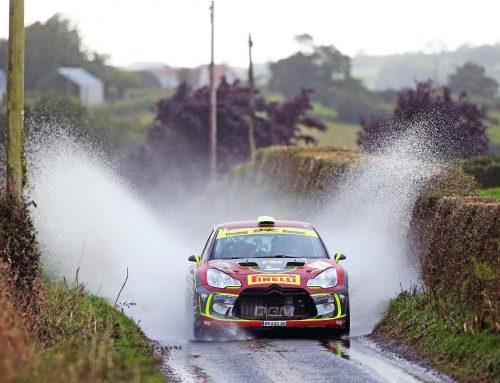 Tight at the top, Cronin lead as Pryce charges after Day One of the Ulster Rally
