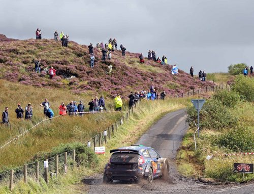 Tight at the top, Cronin leads as Pryce charges after Day One of the Ulster Rally