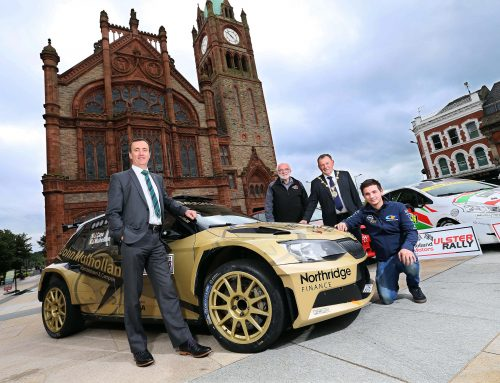 City gets in gear for Ulster Rally weekend