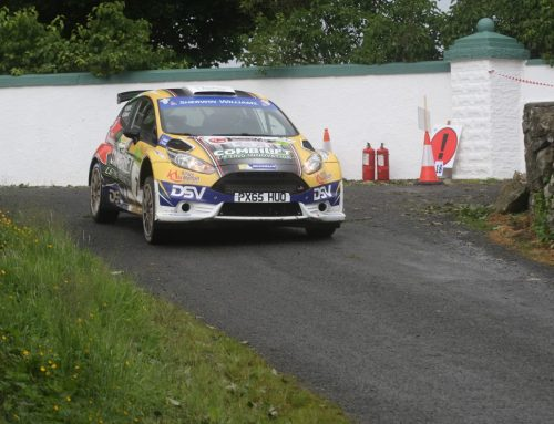 SAM MOFFETT TAKES IRISH TARMAC RALLY CHAMPIONSHIP LEAD AFTER DONEGAL