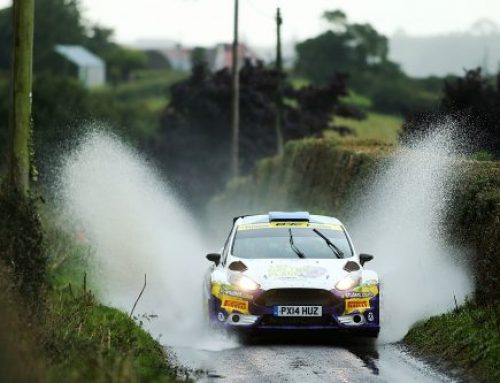 British Rally Championship speeds into Northern Ireland