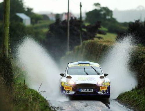 British Rally Championship speeds into Northern Ireland