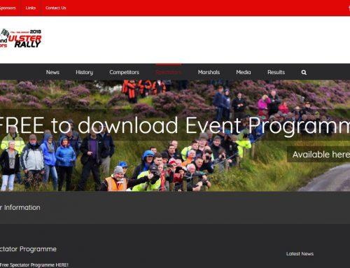 A first for Ulster Rally with FREE online Programme