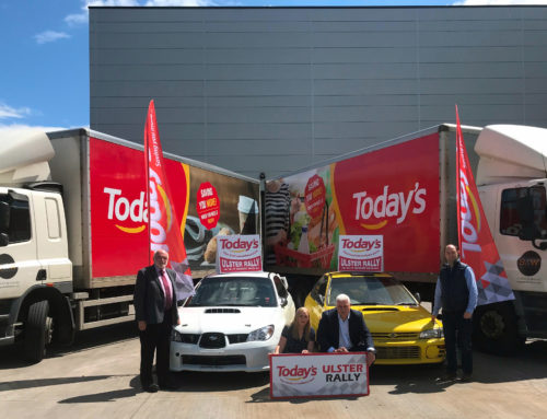 TODAY'S ANNOUNCED AS ULSTER RALLY SPONSOR