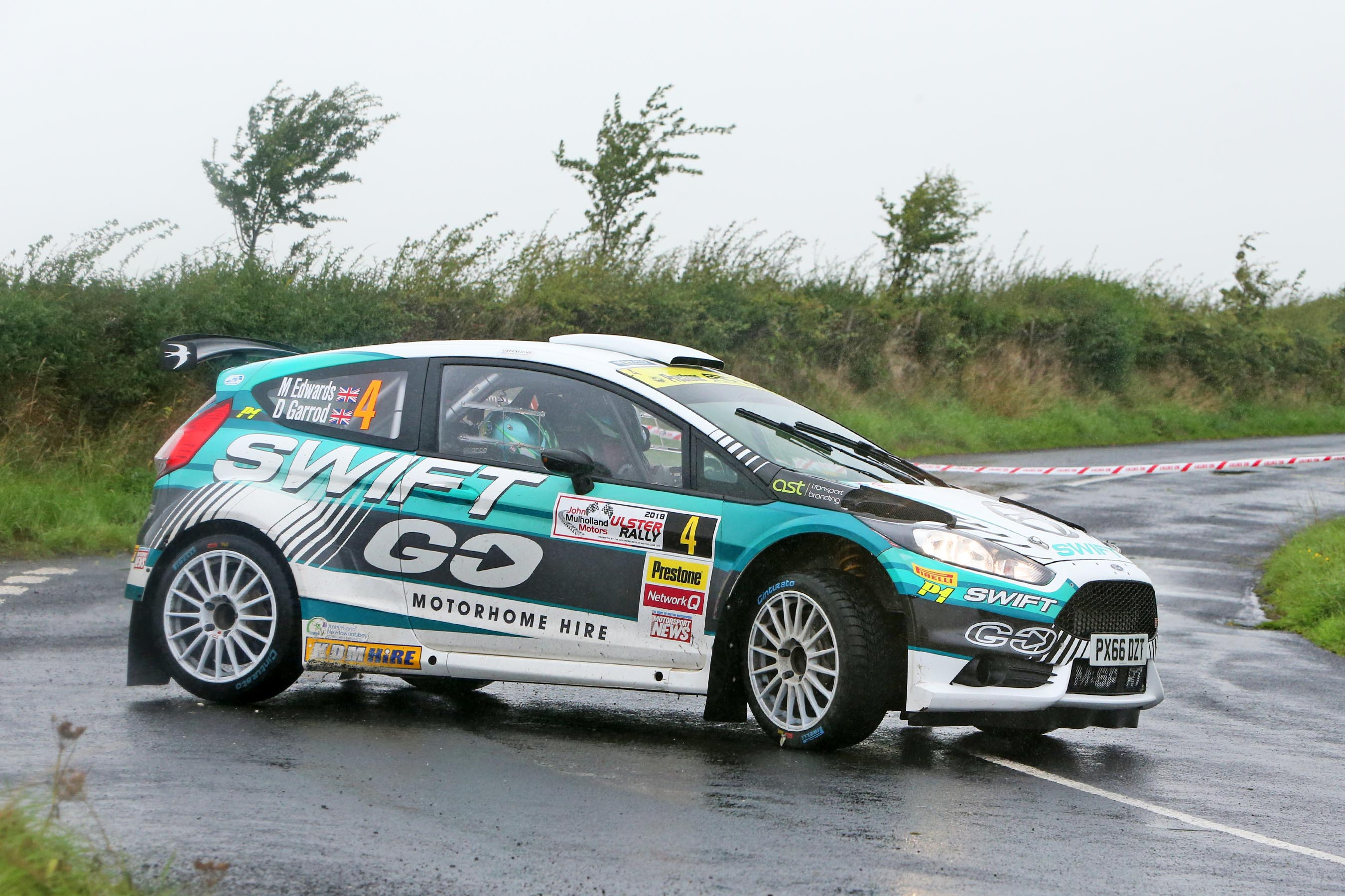 Edwards battles it out to clinch victory in a challenging Ulster contest